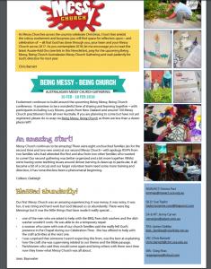 messy newsletter